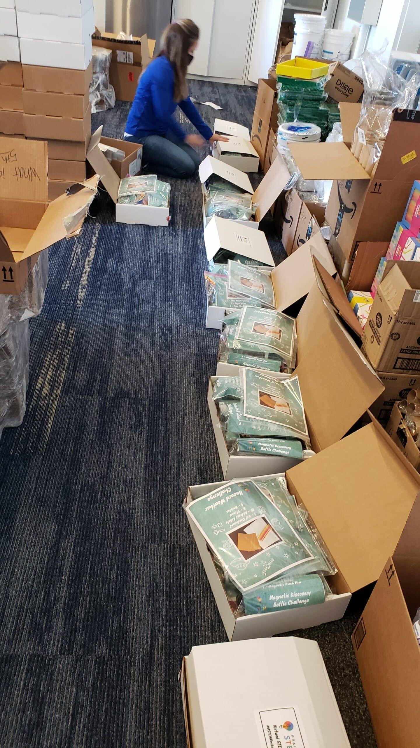 STEAM Kits - Lis Packing Kits
