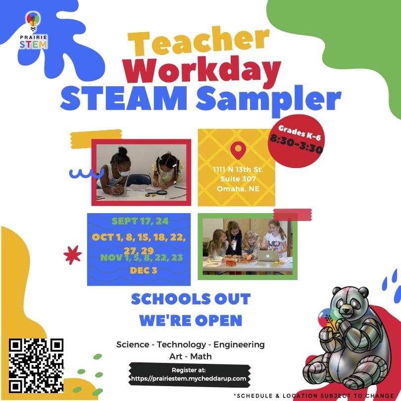 teacher workday stem sampler